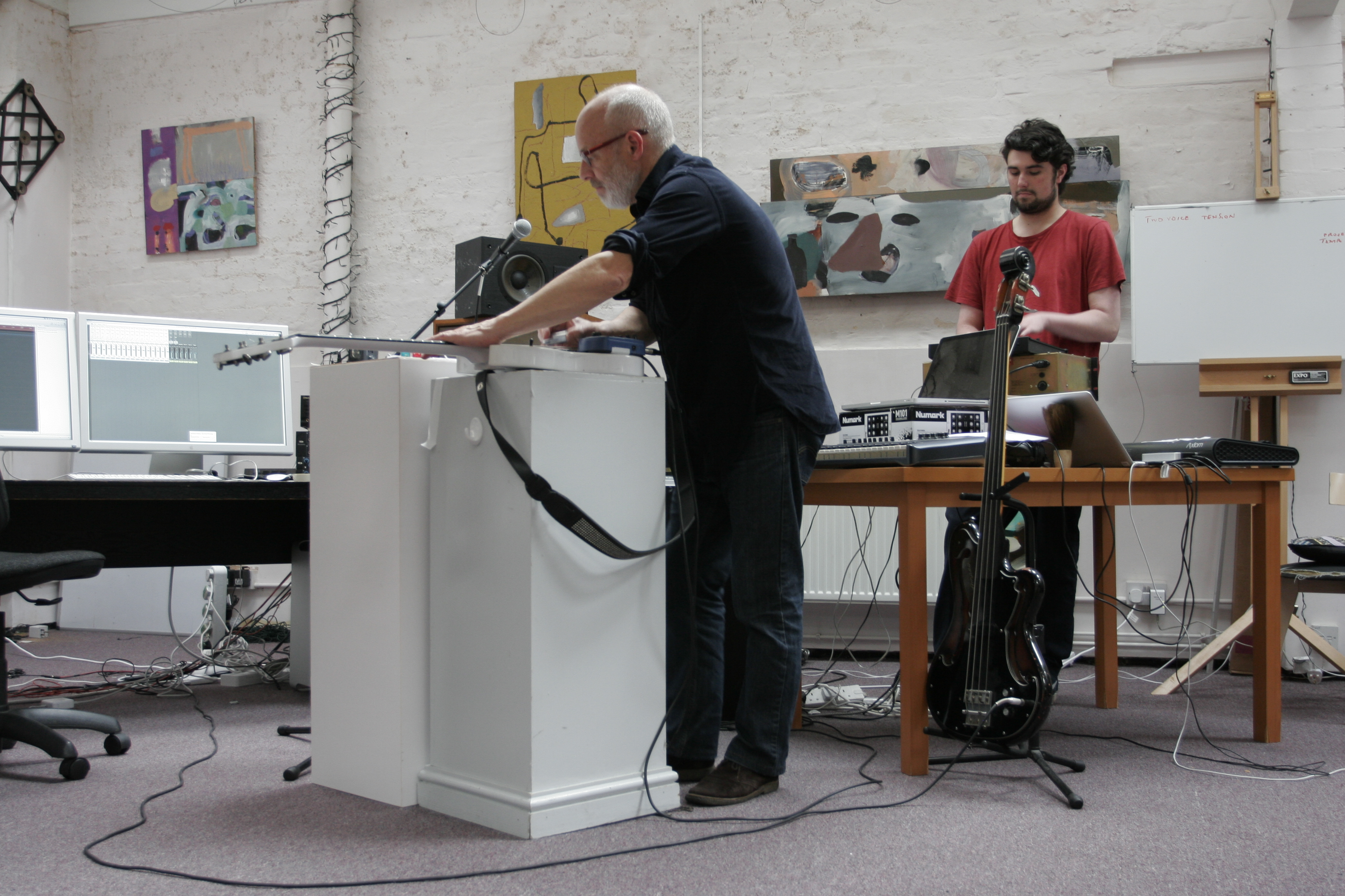 Brian Eno and Karl Hyde: Recording Someday World (Part 2)